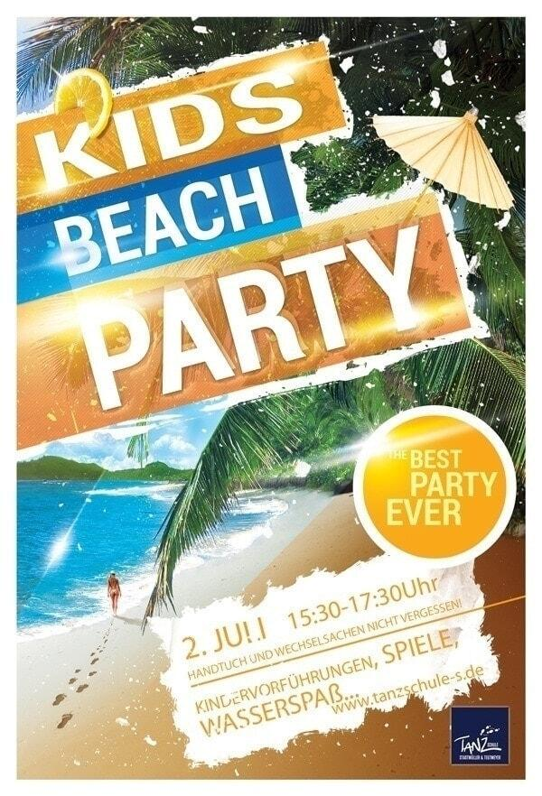 Kids Beach Party 2014